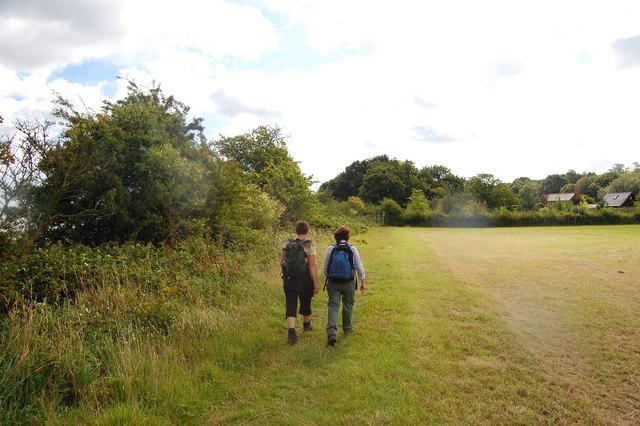 The Essex Way 157: approaching Strandlands