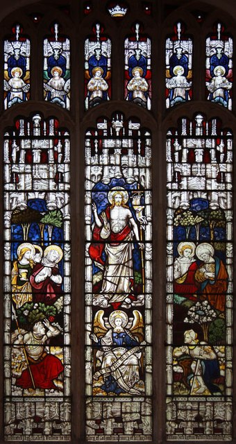St Peter & St Paul, Heydon - Stained glass window