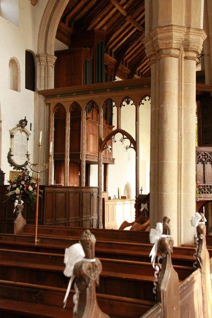 St Peter & St Paul, Heydon - Interior