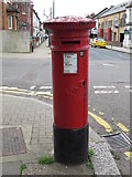 TQ2284 : Victorian postbox, Villiers Road / Belton Road, NW2 by Mike Quinn
