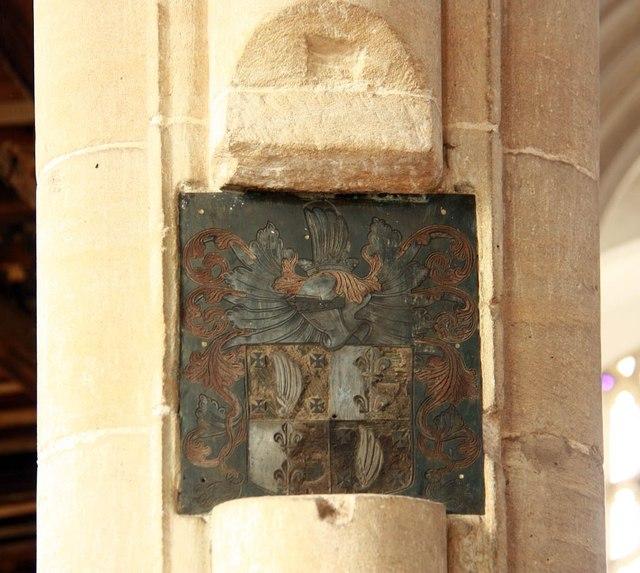 St Peter & St Paul, Heydon - Brass