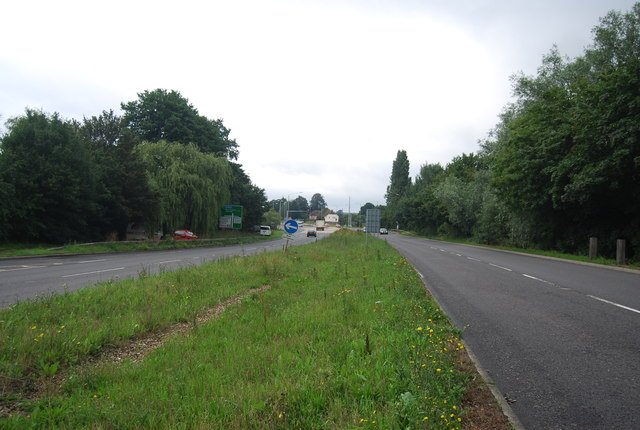 A228, Malling Rd looking south