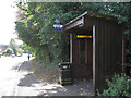 SP2482 : Connected bus shelter, Main Road  by Robin Stott