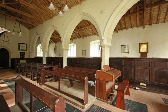 St Andrew, Thurning - Interior
