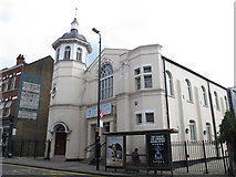 TQ2284 : New Testament Church of God, High Road, NW2 by Mike Quinn