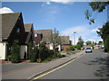 SP2482 : Houses in Glovers Close  by Robin Stott