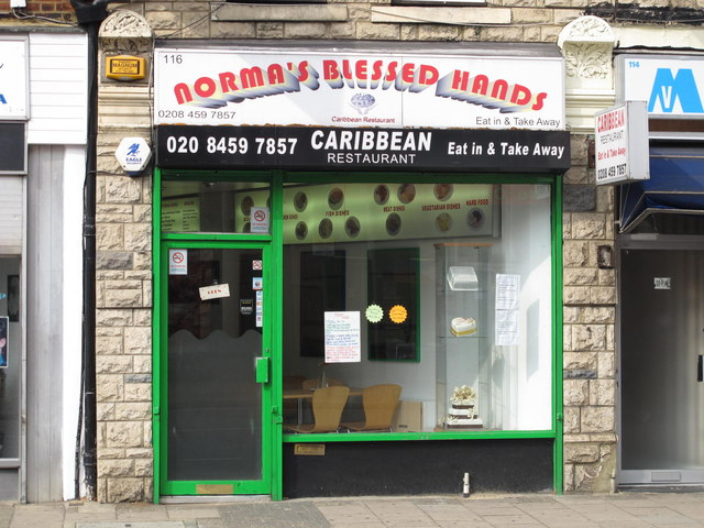 Norma's Blessed Hands, High Road, NW2