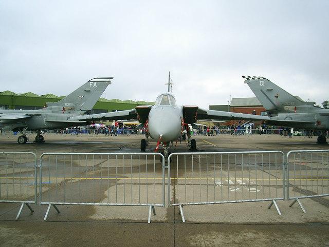 RAF Leuchars; Tornado Static Display 2008