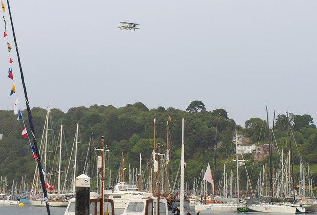 Swordfish over Dartmouth