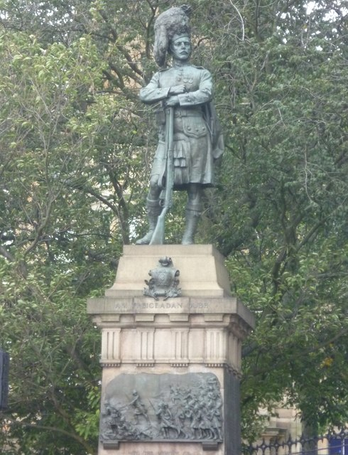 Black Watch Memorial, The Mound