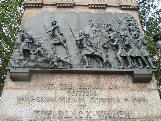 Black Watch Memorial panel