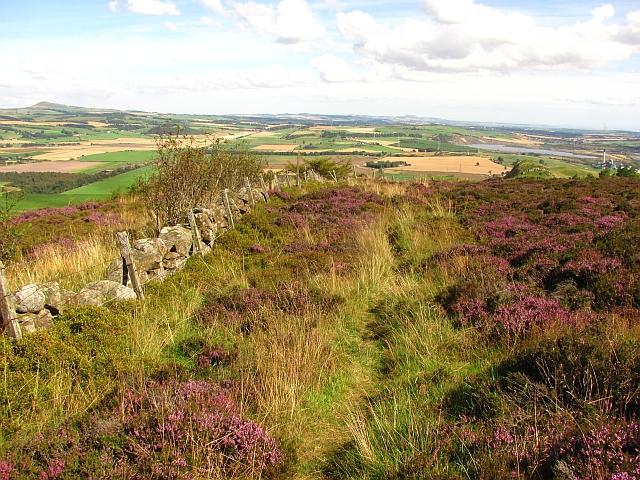 March dyke, Benarty Hill