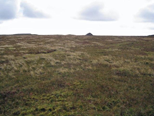 Summit plateau, Healabhal Mhòr