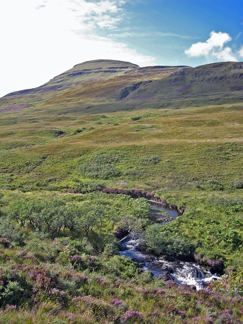 Glen Osdale and Healabhal Mhòr