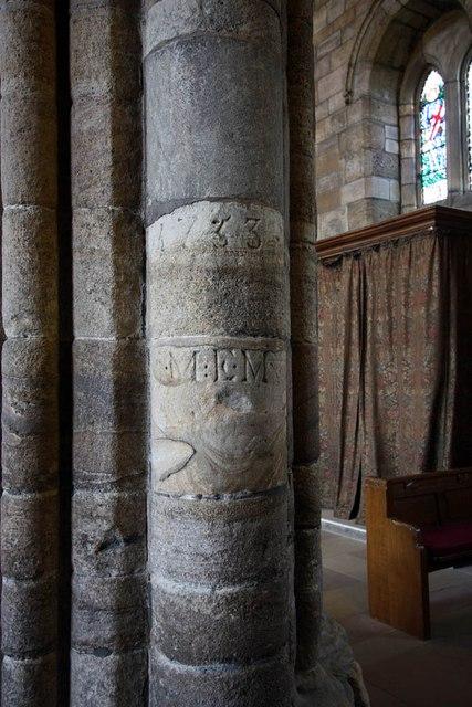 Dunblane Cathedral - Graffiti