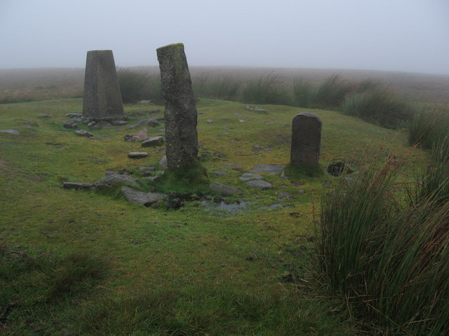 Ryder's Hill in the mist