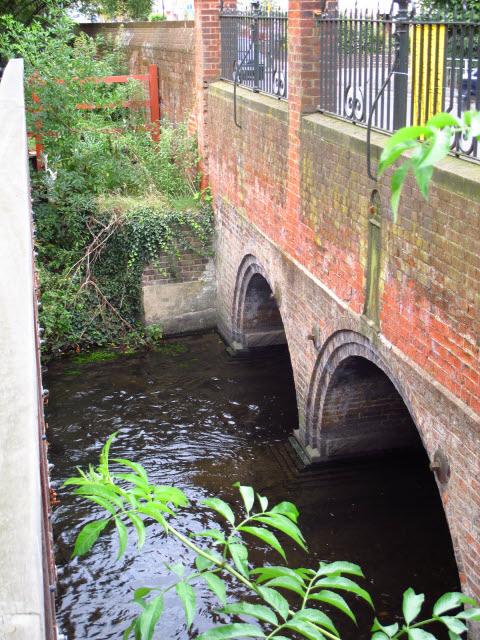 London Road bridge - arches