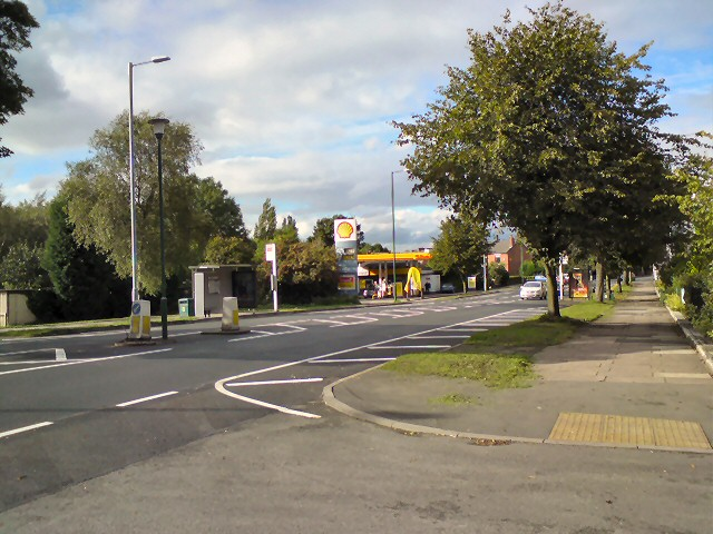 New White Lines on Dowson Road