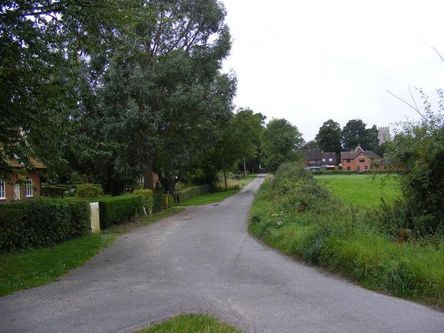 Church Road. Framsden