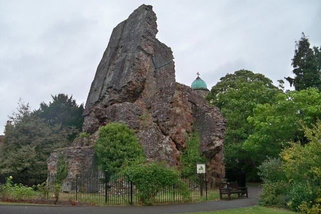 Ruins of Bridgnorth Castle