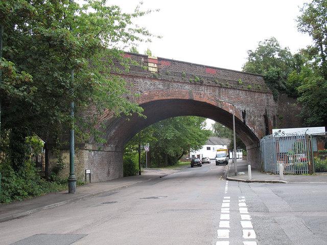 Railway Bridge over Mill Lane