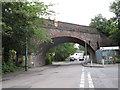 TQ2865 : Railway Bridge over Mill Lane by Stephen Craven