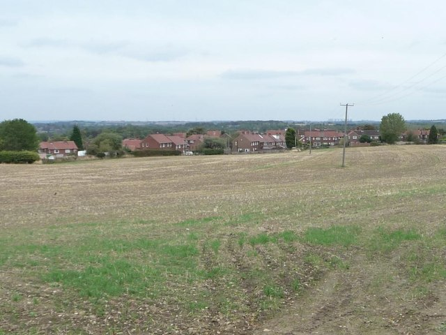 Hall Green from Stoney Lane