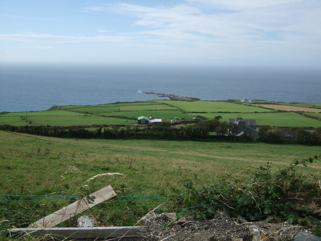 View from above Balladda Farm to Niarbyl