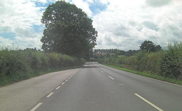 A28 approaches Hexden Bridge