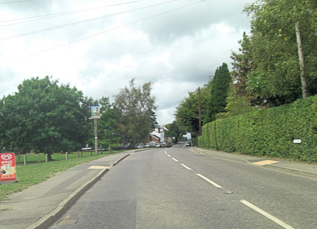 A268 is Queen Street in Sandhurst