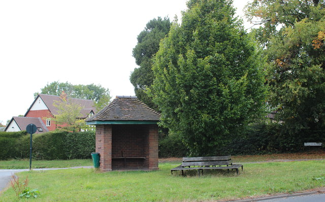 Bus shelter, Mathon Turn, Colwall
