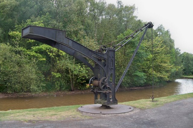 Canal Crane - Blists Hill