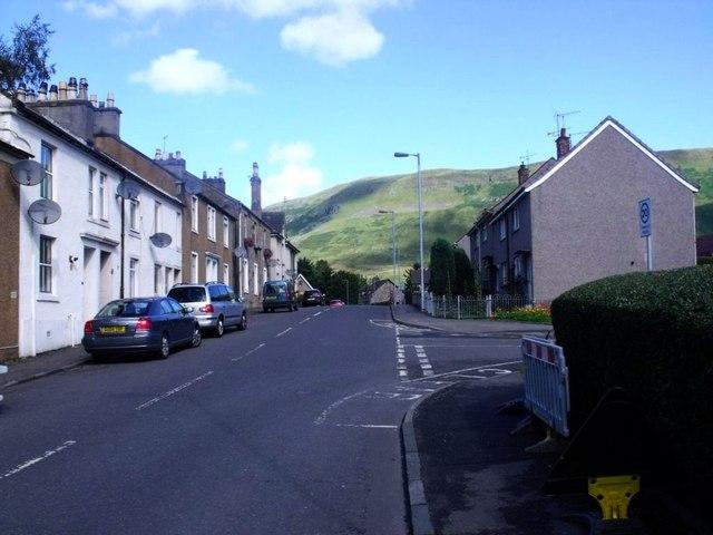 Lennoxtown, Crow Road