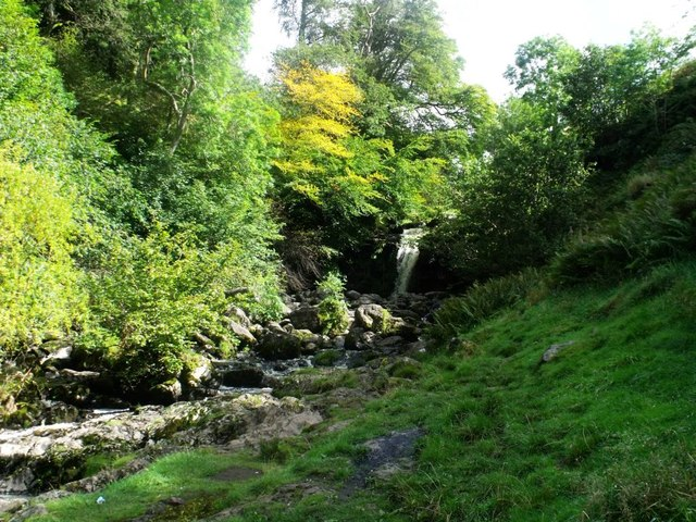 Campsie Fells, waterfall on Kirk Burn [2]