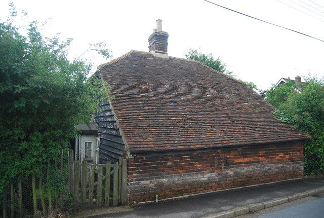 Weatherboarded cottage