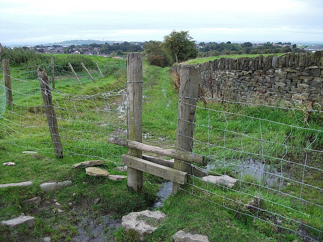 Stile over Pencil Brook