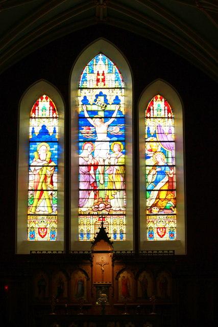 St., Andrews Church interior,  Braemar