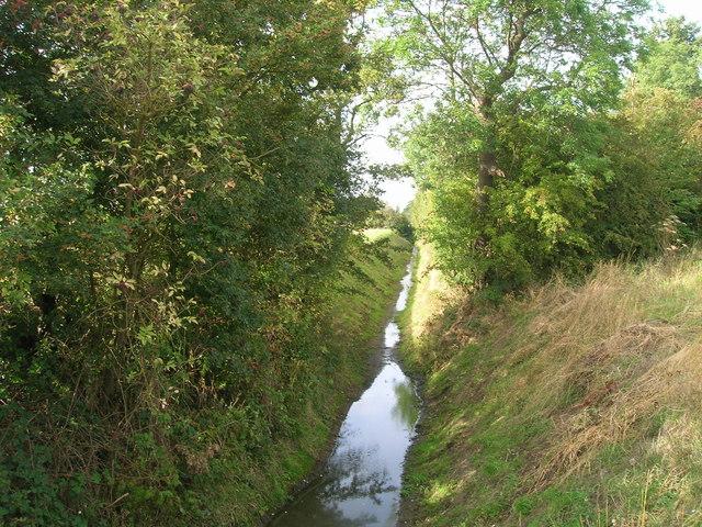 Drain off Arksey Common Lane