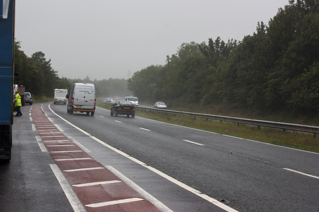 Another wet Friday morning on the A591