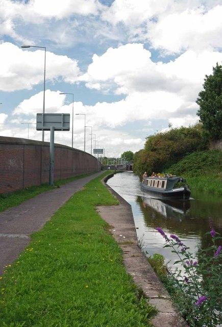 Towards Stoke Bottom Lock