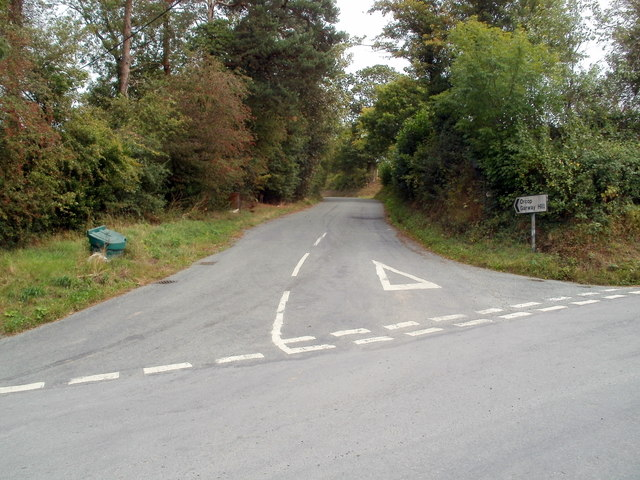 Road from Pontrilas to Orcop and Garway Hill