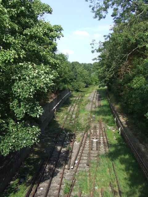 Disused Underground track, Epping