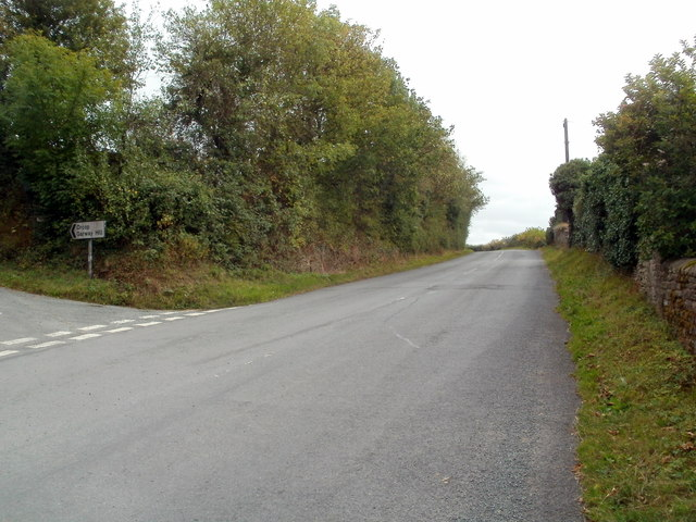 B road to Kentchurch from Pontrilas