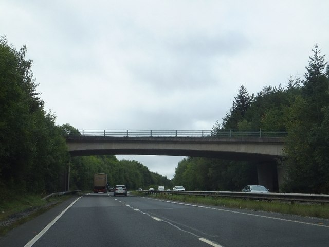 Bridge over A38 at Staplehill