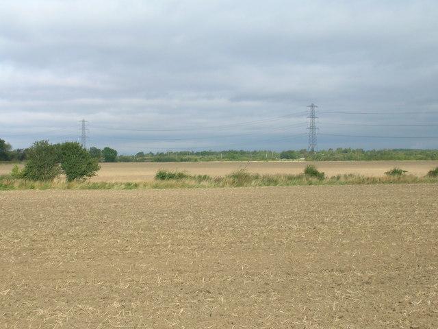 Farmland near Almholme