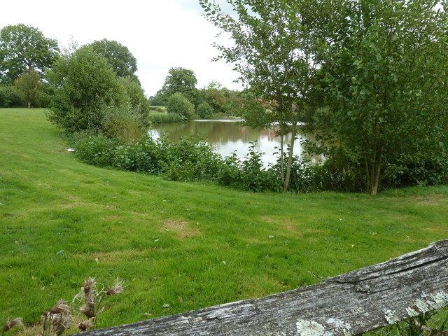 Lake at Chailey Moat