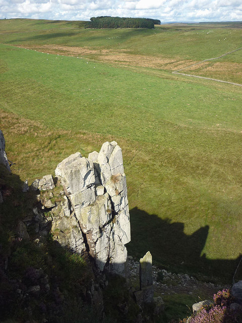 Pinnacles on Highshield Crags