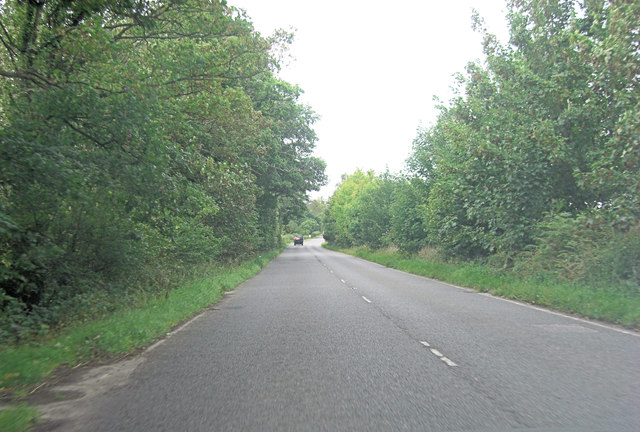 A268 west of Hawkhurst