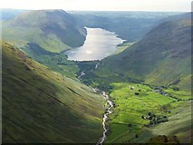 NY1807 : Wasdale from Great Gable by Nigel Davies