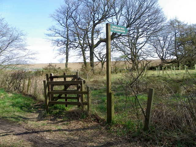 Gate on the path to Coldingham
